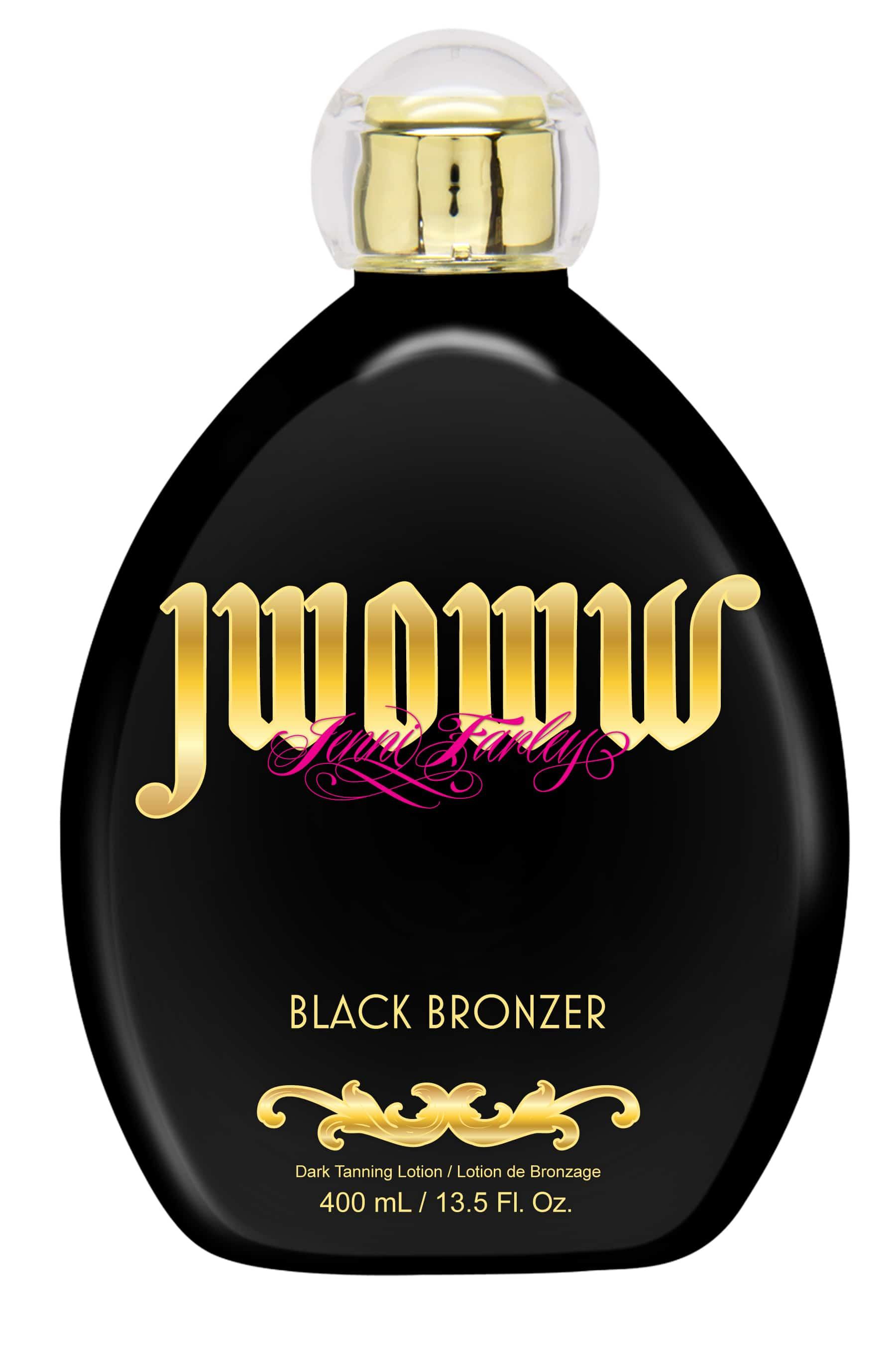 Jwoww Black Bronzer Bottle Tanning Supplies Unlimited