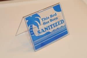 Tent Blue Sanitized