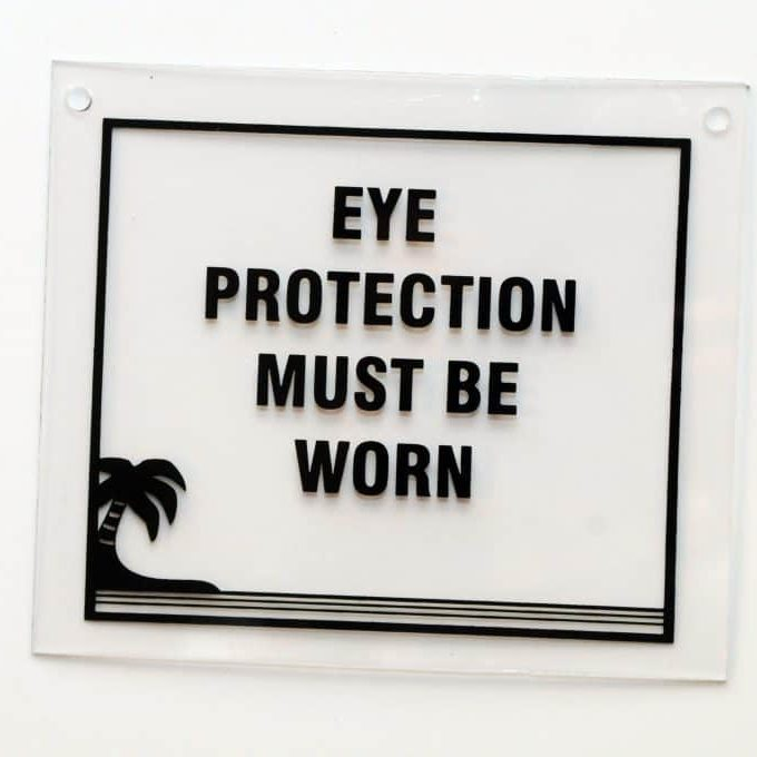 6x7 Eye Protection - Clear