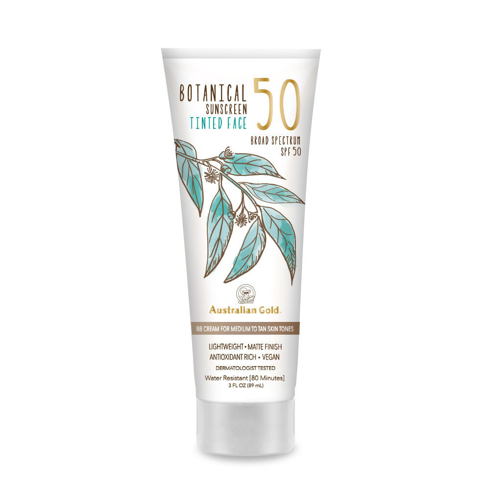 Botanical SPF 50 Tinted Face Med to Tan