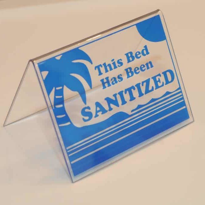 Tent Blue Sanitized