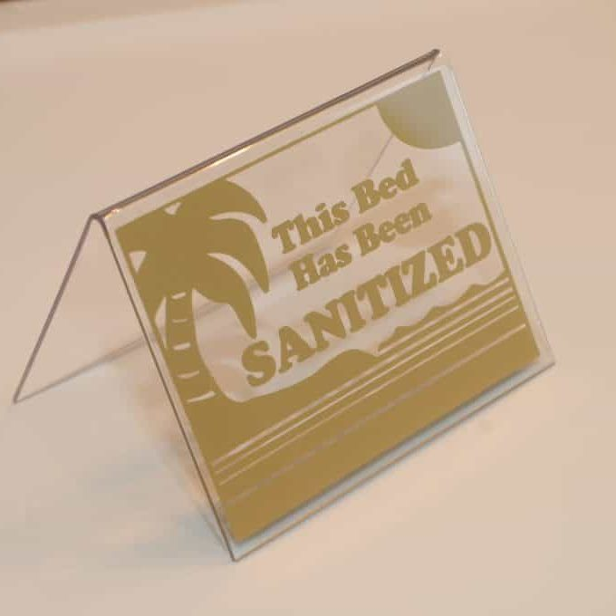 Tent Gold Sanitized
