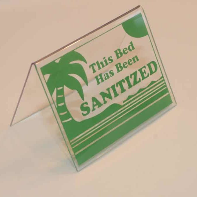 Tent Green Sanitized